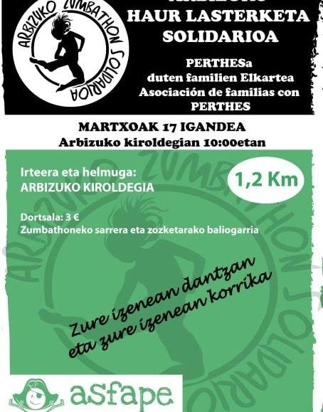 ARBIZUKO HAUR LASTERKETA SOLIDARIOA – 2019