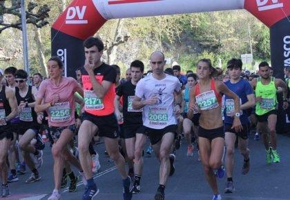 [HITZA] Bayelign Teshager Yegzaw eta Irene Kimais nagusitu dira 26. Azkoitia-Azpeitia maratoi erdian