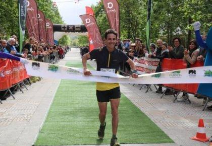 [HITZA] Ismail Razgak eta Ainhoa Jauregik irabazi dute Pagoeta Mendi Lasterketa