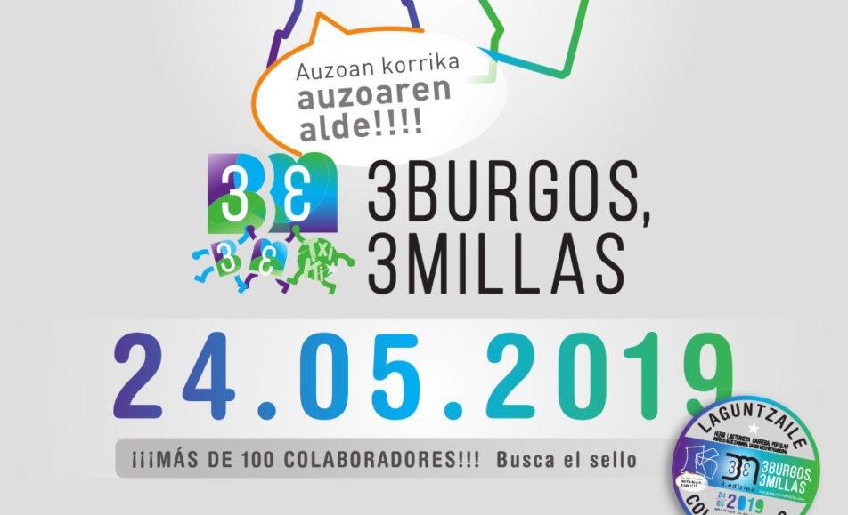 III. 3 BURGOS / 3 MILLAS – HERRI LASTERKETA – CARRERA POPULAR – 2019