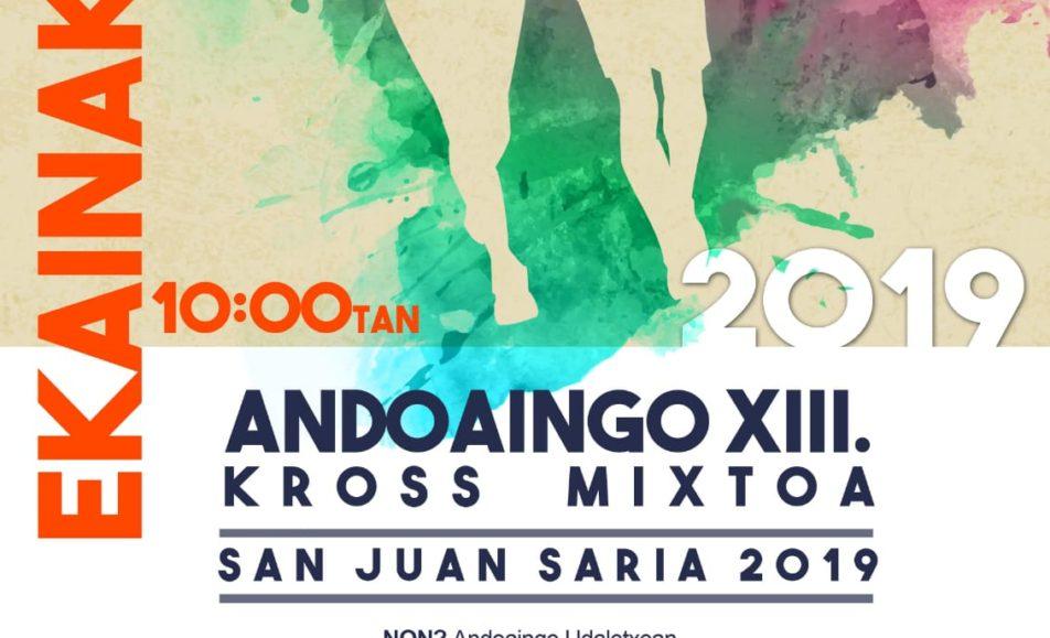 XIII. ANDOAINGO KROS MISTOA – 2019