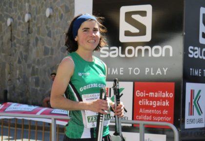 [HITZA] Ainhoa Sanz urretxuarrak eta Oriol Cardonak irabazi dute kilometro bertikala