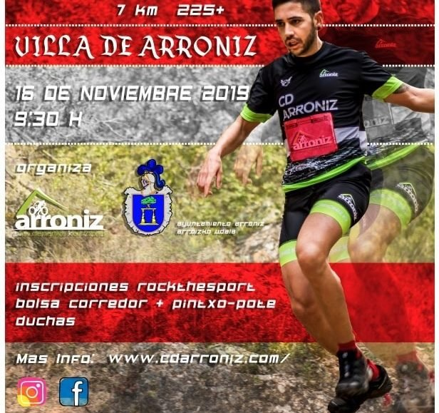 III. CROSS TRAIL ARRONIZ – I. MEDIA MARATHON – 2019
