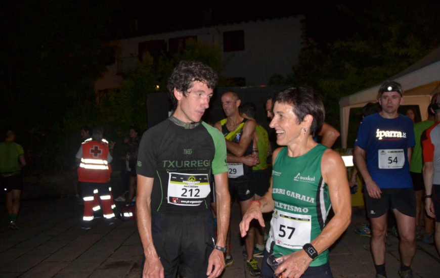 Mikel Beunza y Lurdes Oiartzabal ganan una Gau Krosa de Bera con récord de participación
