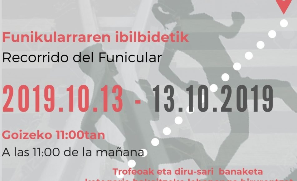 II. IGOERA ARTXANDAKO FUNIKULARRETIK – ASCENSIÓN POR EL FUNICULAR DE ARTXANDA – 2019