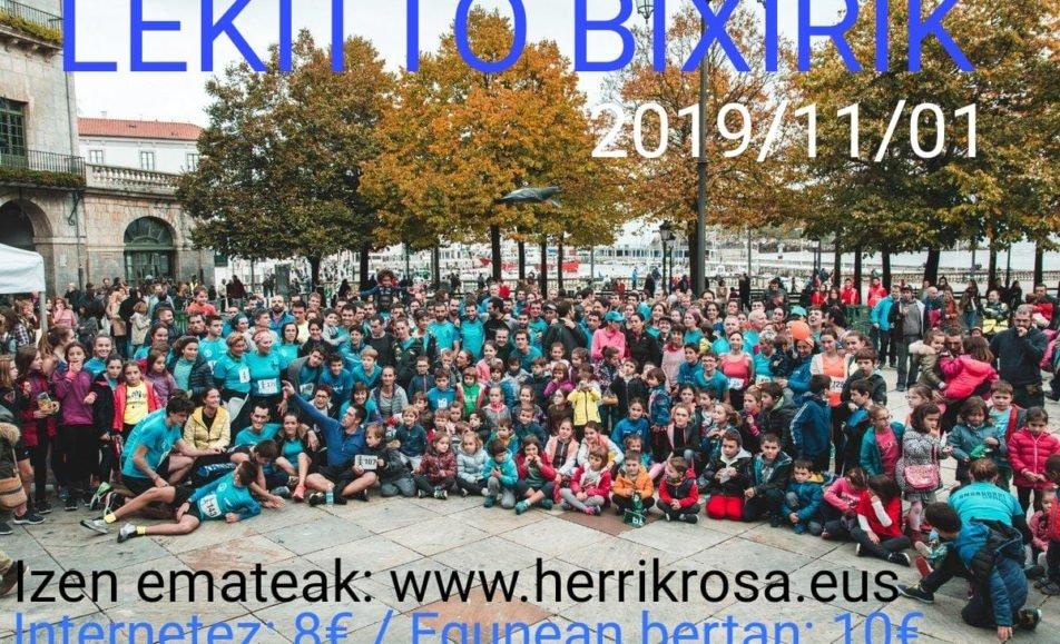 XII. LEKITTO BIXIRIK HERRI KROSA – 2019
