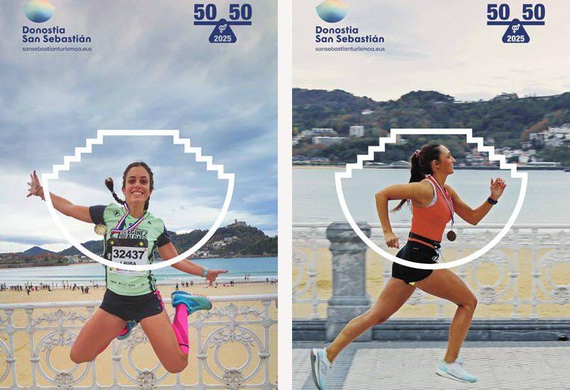 DESAFÍO 50/50/25: Donostia San Sebastián Turismoa, Maratón y Behobia- San Sebastián se unen por la paridad en el deporte