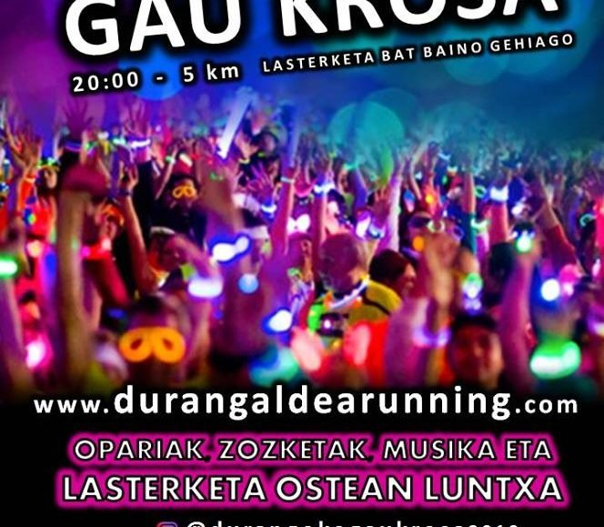 V. NIGHT URBAN RACE « DURANGOko GAU KROSA » – 2019