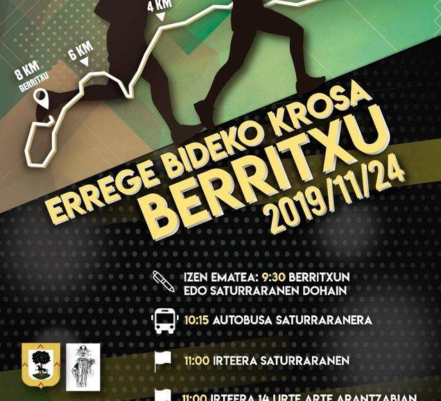 VII. ERREGE BIDEKO KROSA – BERRITXU – 2019