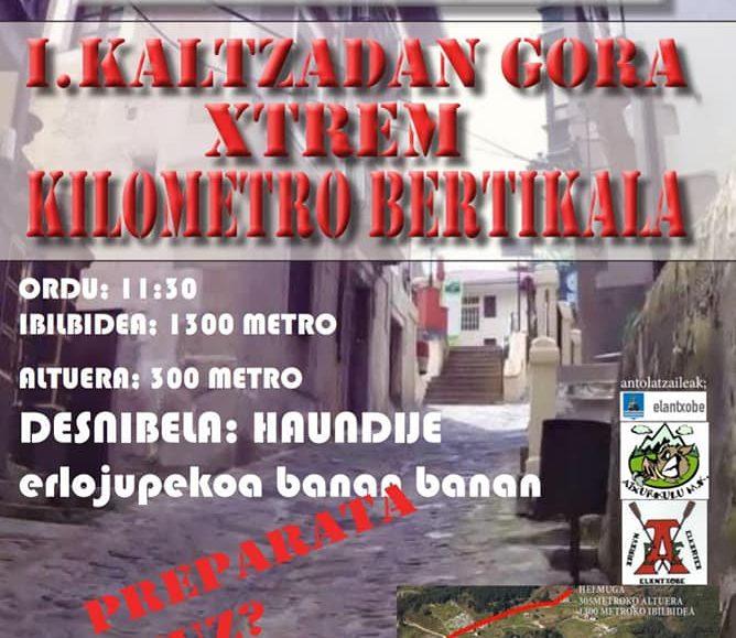 I. KALTZADAN GORA XTREME KILOMETRO BERTIKALA – 2019