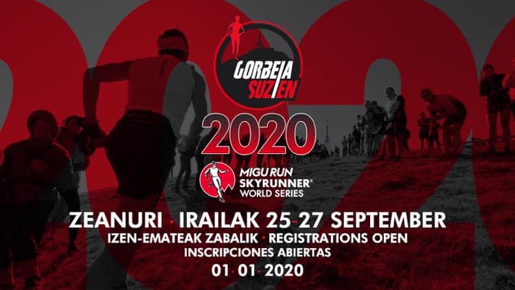 VIII. GORBEIA SUZIEN – 2020