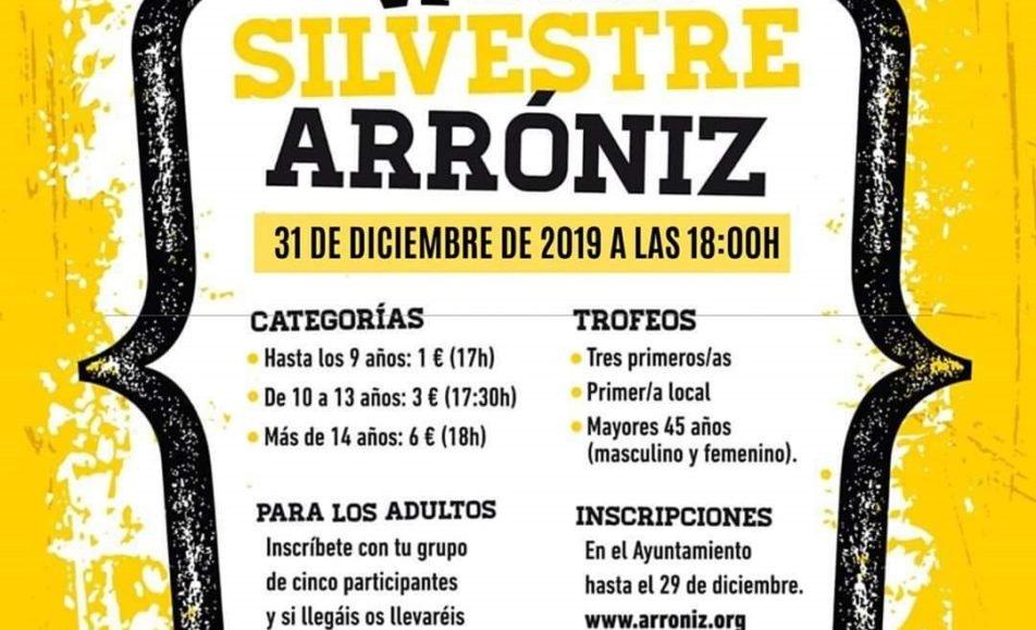 VI. SAN SILVESTRE – ARRONIZ – 2019