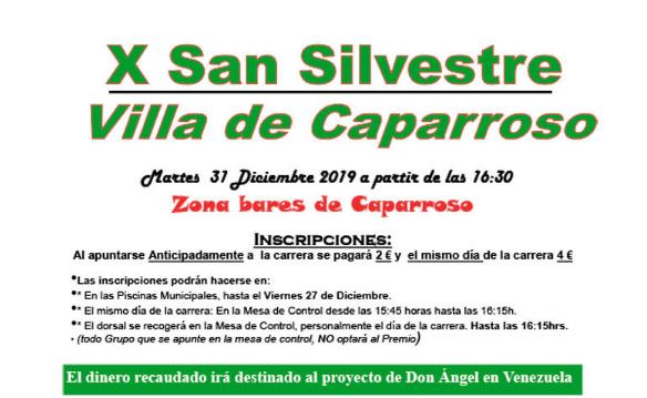 X. SAN SILVESTRE – CAPARROSO – 2019