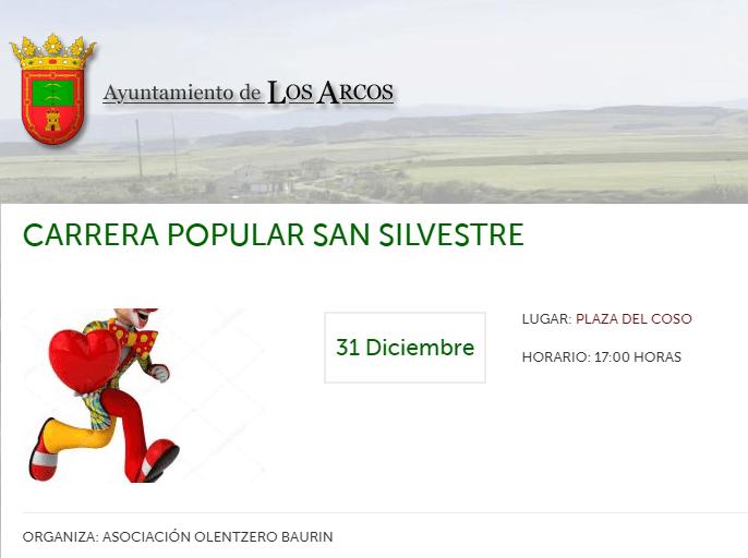 SAN SILVESTRE – LOS ARCOS – 2019