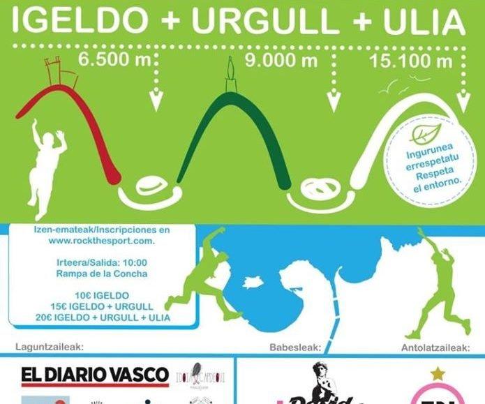 VII. DONOSTIAKO 3 MENDIAK (3M) – IGELDO + URGULL + ULIA – 2020
