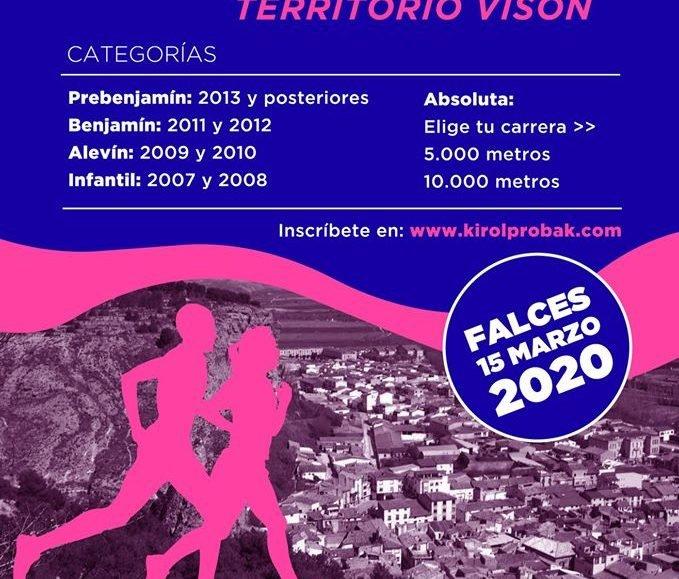 XXXI. CROSS TERRITORIO VISÓN FALCES – 2020
