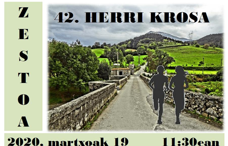XLII. ZESTOAKO HERRI KROSA – 2020