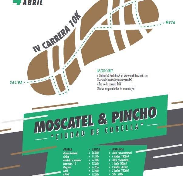 """IV. CARRERA MOSCATEL & PINCHO """"CIUDAD DE CORELLA"""" – 2020"""